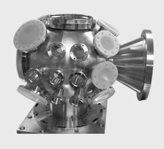 Spherical vacuum chamber