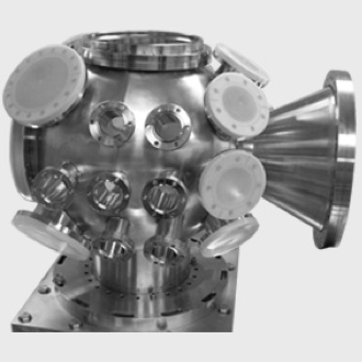 Customized UHV spherical chamber for you drawing - Htc vacuum